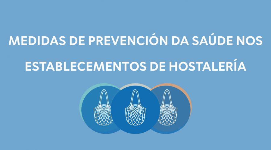 Medidas de prevención da saúde nos establecementos de hostalaría