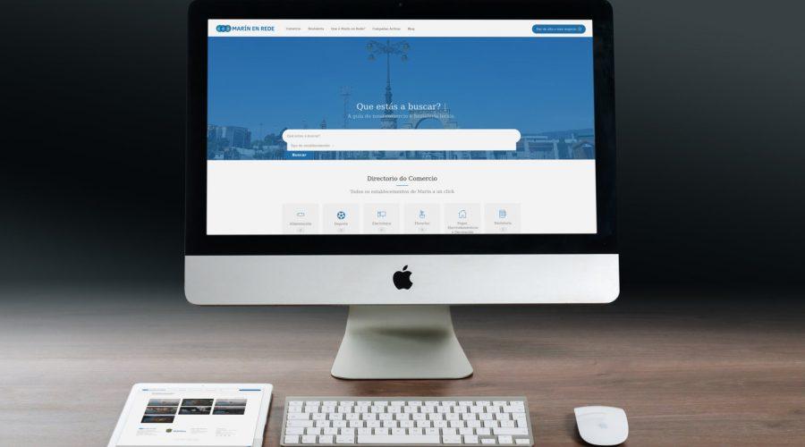 Marín En Rede estrea a súa web con fichas multimedia dos negocios