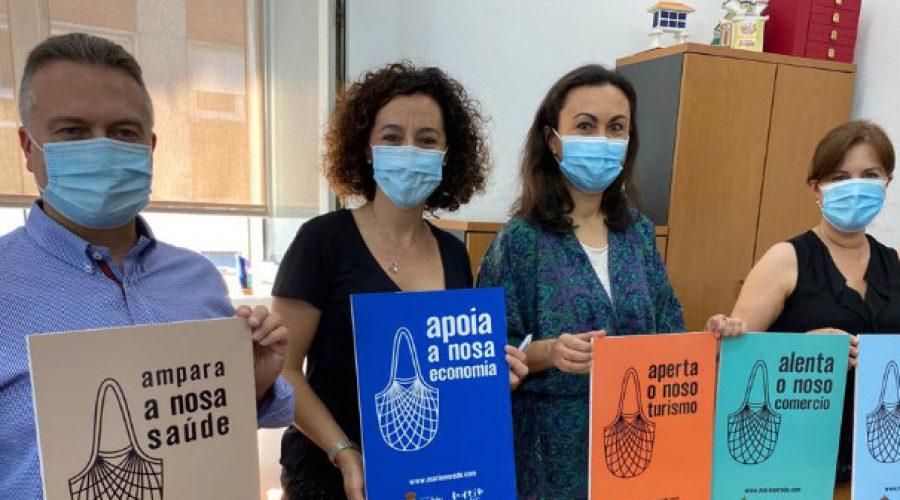 Apoiar o noso e reactivar xuntos a vila de Marín, mensaxe principal da nova campaña de dinamización comercial do Concello